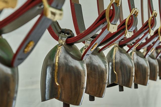 Glocken aus Bronze